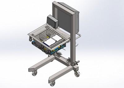 3-D-Modell Käsestreuer