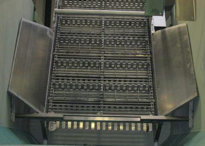 Kettenförderer im Rübenwascher