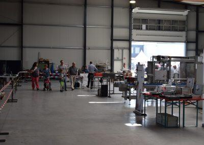Besucher Maschinenbau Gewerbeschau