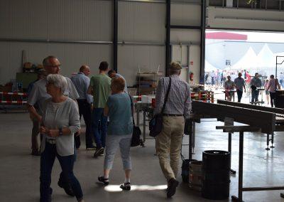 Besucher der Fa. Terbahl in Weseke