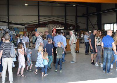 Besucher Gewerbeschau in Weseke