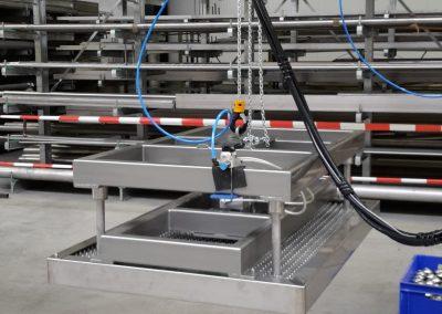 Hebemagnet für Aerosoldosen im ATEX Bereich Zone II2G