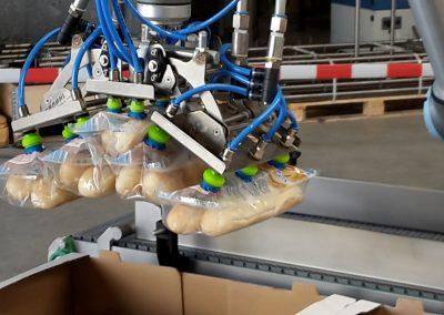 Pneumatisch einklappender Vakuumgreifer